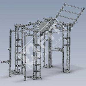 estrutura média