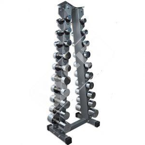 suporte piramidal halteres